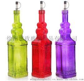 厂家供应 可来样来图加工定做 玻璃花瓶