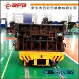 环保设备转弯式轨道运输车 百分百供应KPX-10T蓄电池供电轨道电动平车