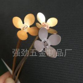 新品 线材成型、花朵、花枝、五金装饰品