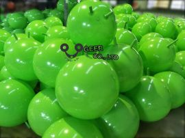 吉雅青蘋果綠跳球 把手球 瑜珈球 兒童球