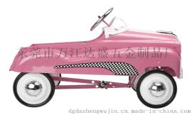 厂家直供3-5岁儿童玩具车 金属童车 仿真脚踏车 儿童小汽车 外贸玩具四轮小车