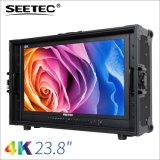 "SEETEC 23.8"" 4K超高清分辨率3840x2160 IPS屏广播级箱载式监视器 4路HDMI输入 4K238-9HSD-CO"
