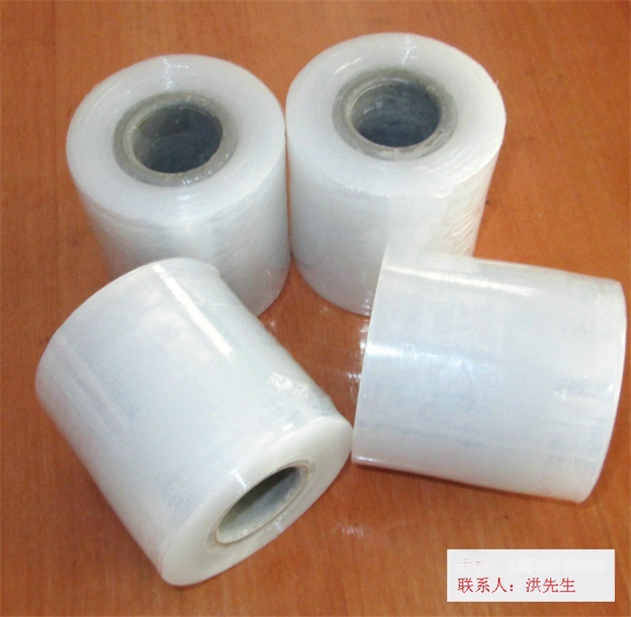 工廠直銷自粘電線膜/PE纏繞膜/捆紮膜/包裝膜\拉伸膜 規格定製