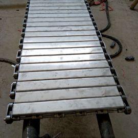 不锈钢链板厂家 耐高温 链条式冲孔输送链板传动链价格