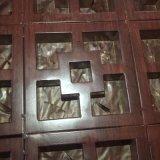 304木纹不鏽鋼方管 热转印工艺刨花立体木纹方管 木纹专家订做