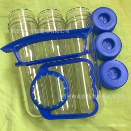 PET63g 一次性五升桶装水瓶坯 配聪明盖手柄