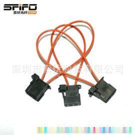MOST汽车塑料光纤跳线 回路环 音响音频检测试环 **环路
