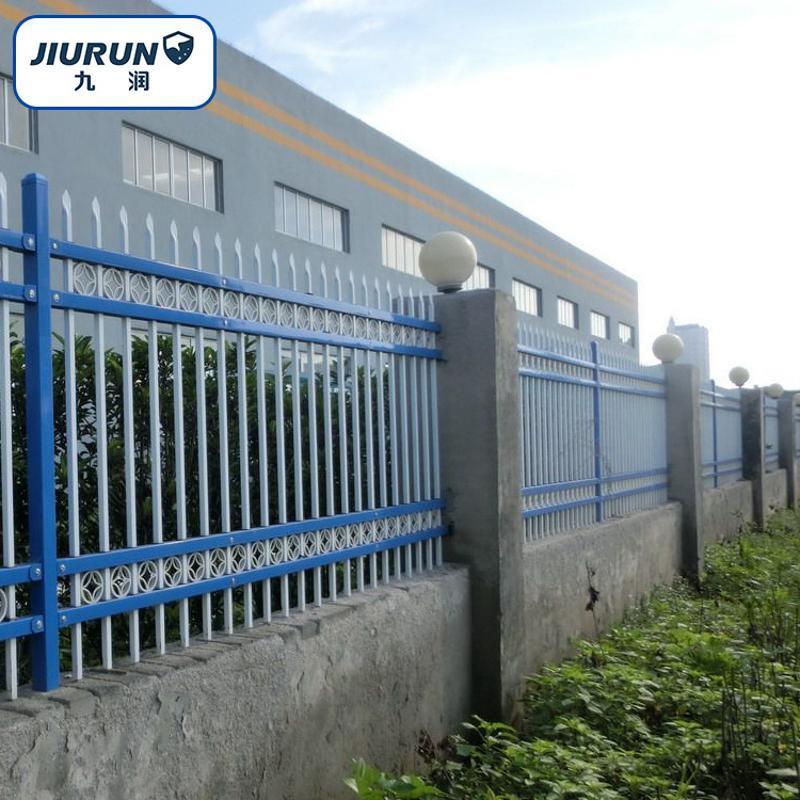 小區圍牆護欄  新型組裝插接式圍欄  鋅鋼護欄