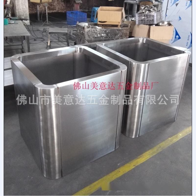 造型不锈钢花盆组合 上海花盆 专业不锈钢花盆加工