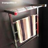 带置物架方管不锈钢电热毛巾架, 浴室置物架