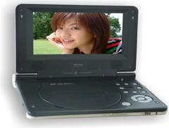 便携式DVD/DVB-T/ATV三合一播放机(708 3-IN-1)
