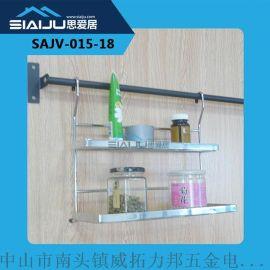 新款正品太空带护栏多功能厨房置物挂架收纳架 厂家直销