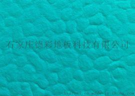 广东德彩篮球场专用PVC塑胶运动地板