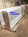 南京优质生产厂家加工定制全自动冲水不锈钢小便槽