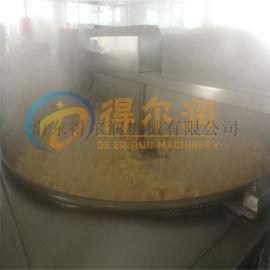 豆泡自动油炸机 油豆腐电加热油炸机 自动过滤油炸锅
