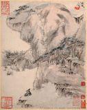 一萌采用艺术微喷技术复制馆藏  山人字画