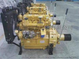 水泥罐车空压机柴油机 潍坊宾德动力ZH4102P柴油机 手动离合器固定动力座机柴油机
