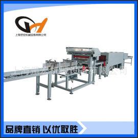 上海罡宏GH-2500T地板全自动套膜热收缩包装机