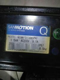 快速三洋伺服电机维修Q2AA10150VCP41