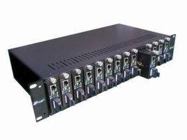 N-NET光纤收发器机架(NT-**-2-A)