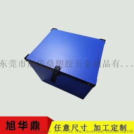 定制防尘盖中空板骨架箱 铝边箱