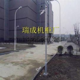 监控立杆3米小区摄像机支架道路球机监控杆子