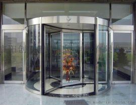 酒店自动玻璃旋转门湖北理想定制
