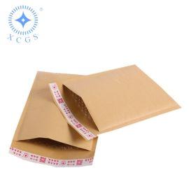 牛皮纸气泡信封 气泡膜包装袋 黄色牛皮纸气泡塑料袋