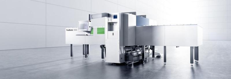 TruMatic 1000 fiber激光加工机床