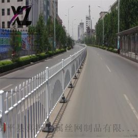 市政道路护栏定制、道路机非分隔栏、市政道路护栏厂家