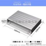 功放铝型材外壳 电子产品电源铝盒仪器仪表壳体A81