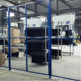 供应仓库隔离网 框架车间隔离网 车间铁丝网