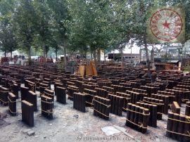 济南茬装水泥仿木栏杆,集成河堤护栏