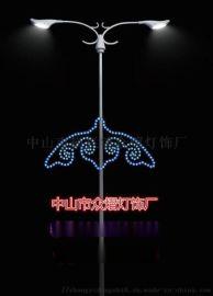 承接大型梦幻LED灯光节 动物造型灯 铁艺造型