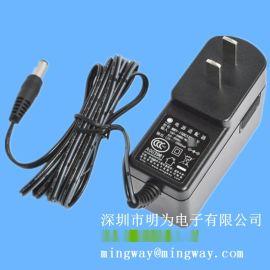 直流适配器12V 1A开关电源 LED灯带电源