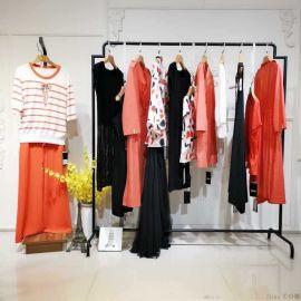 羊绒围巾低价品牌女装加盟折扣女装 品牌服装尾货进货渠道