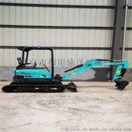 钩机加长臂 园林绿化先导小型挖掘机 都用机械抓料机