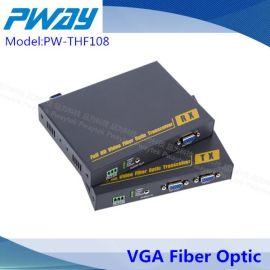 kvm光纤延长器,DVI鼠标键盘,厂家直销! -kvm网络延长器