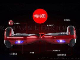 马灵鼠魔力平衡车(扭扭车)