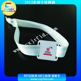 NFC智能卡,RFID卡片,电子标签,RFID硅胶腕带,NFC编织腕带