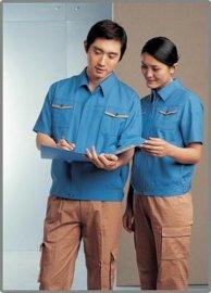 白云区工厂工作服订做 订制白云区人和工作服 短袖工作服厂家直销