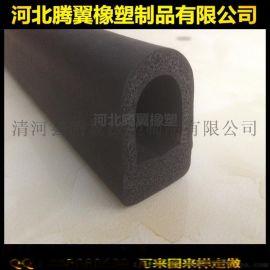 厂家批发定制 D型橡胶发泡条 三元乙丙橡胶密封条 防撞条