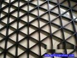 臨沂格柵鋁天花 三角形鋁格柵 方格子鋁天花規格