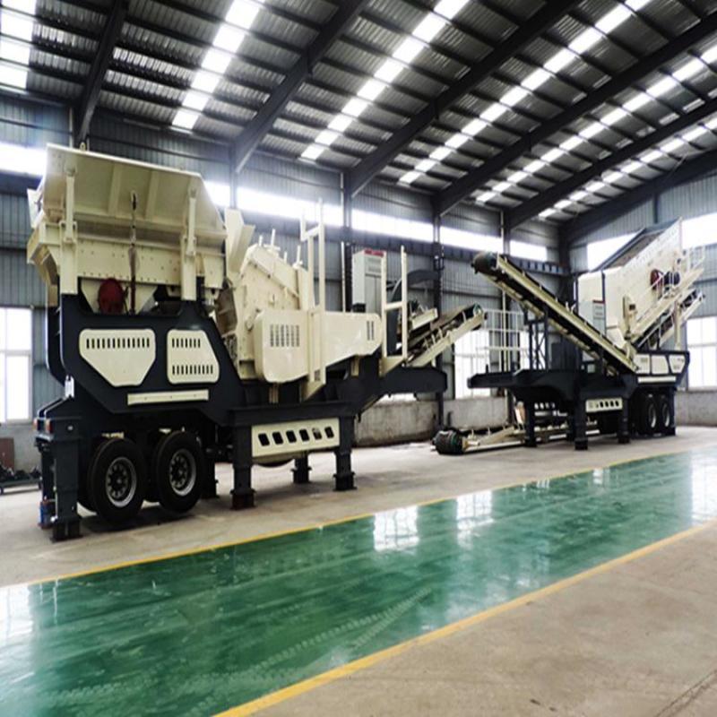 砂石生产线设备 花岗岩加工破碎站 山东公路碎石机