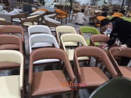 新款直销现代设计师沙发椅 酒店餐厅休闲靠背椅
