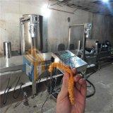 雞肉條上漿機技術要領+專業研發雞肉條油炸機