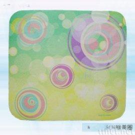 泡泡绿黄圈滑鼠垫(AW-007)