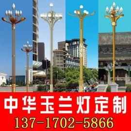 AE照明 中华玉兰灯定制6米8米12米广场公园景观道路照明中华灯