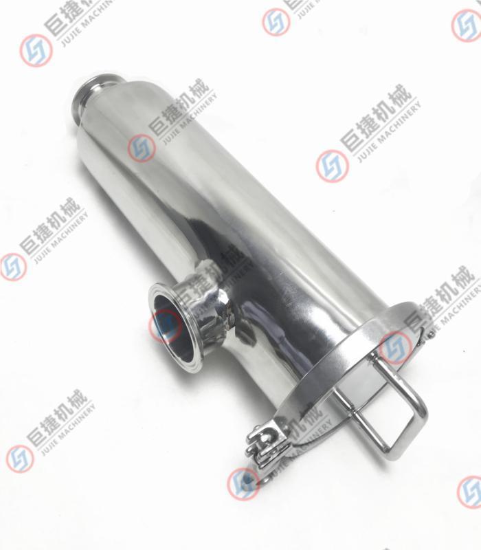 温州厂家角式过滤器 304快装管道过滤器