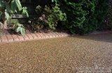 透水膠粘石桓石2017164 透水膠粘石 彩色石頭路面